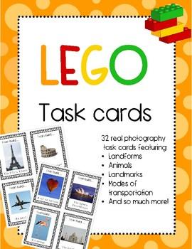 Lego Task Cards-STEM