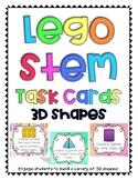 Lego Task Cards - 3D Shapes