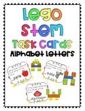 Lego Task Cards- Alphabet Letters