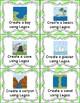 Lego Task Cards - Landforms