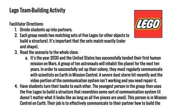 Lego Team-building Activity