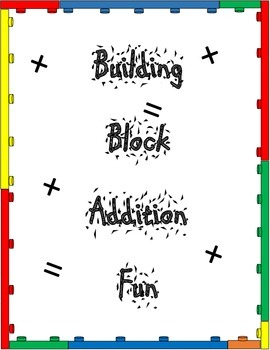 Block Themed Addition and Subtraction