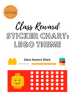 Lego Themed Class Reward Chart