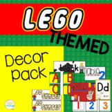 Lego Themed Classroom Decor