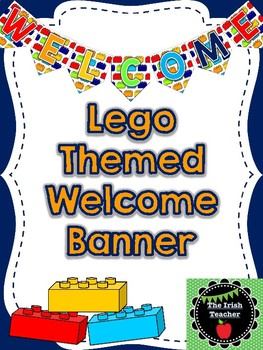 Lego Themed Welcome Banner