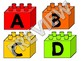 Lego Themed Word Wall Fry's First 400 Words With EDITABLE Bricks