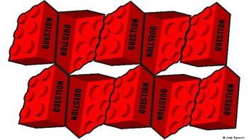 Lego Tower Conversation Game (Social Skills, Conversation Repair, On-Topic)