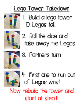 Lego Tower Takedown