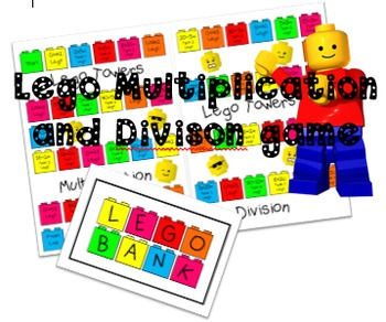 Lego Towers Multiplication and Division Game