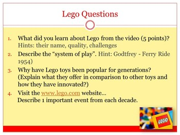 Lego Video & Questions Company History