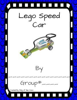 Lego WeDo 2.0 Speed Race Car Lab Sheets