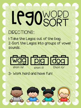 Lego Word Sort