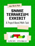 Lego World Math: Snake Terrarium Exhibit (A Project-Based Math Task)
