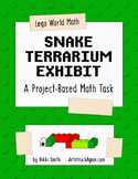Lego World Math: Snake Terrarium Exhibit (A Project-Based