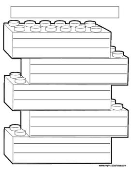 Lego Writing Paper