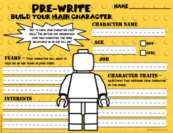 Lego Writing Project- Scaffolded Writing Project to Promote Well-Planned Writing
