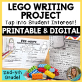 Lego Writing Project- Digital and Printable, Perfect for D