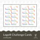 Lego® challenge cards (US spelling) STEM activity