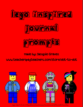 Lego inspired Journal Prompts