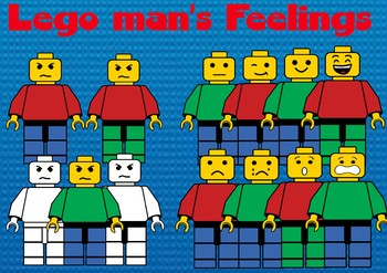 Lego man's feelings