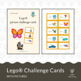 Lego® picture challenge cards