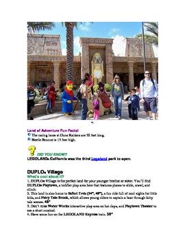 Legoland California 2013: A Planet Explorers Travel Guide for Kids