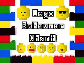 Legos Behavior Chart! Editable