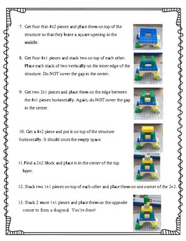 Legos, Literacy, and Listening! Oh My!