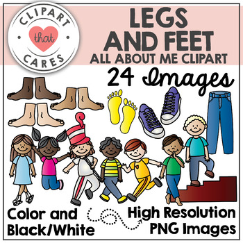 Legs and Feet Clipart by Clipart That Cares