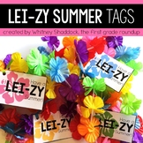 LEI zy Summer Class Gift Tags