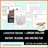 Leicester Square - London England - History, Facts, Colori
