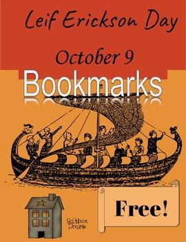 Leif Erickson Day Bookmarks