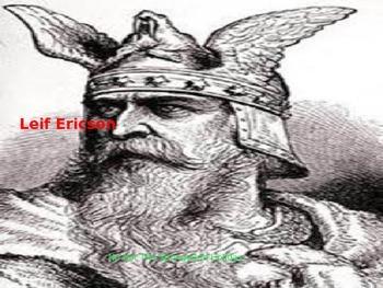Leif Erickson Ericson - Viking Explorer - Power Point Hist
