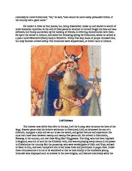 Leif Ericson - A Short Biography