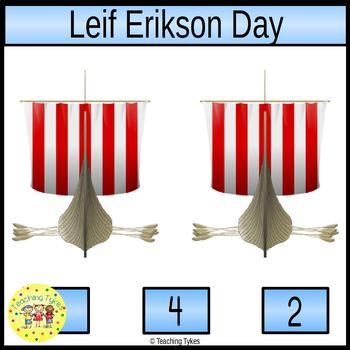 Leif Erikson Clip Task Cards