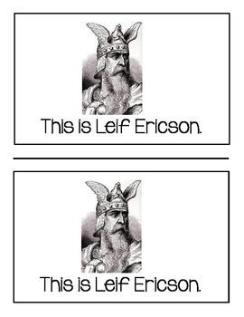 Leif Ericson booklet