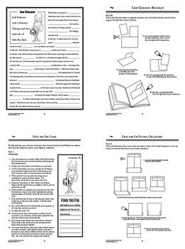 Leif Erikson Interactive Notebook Unit
