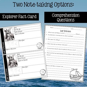 Leif Eriksson Explorer Lesson