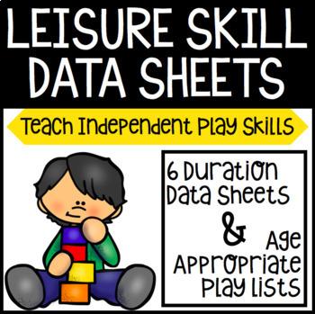 Leisure Skill Data Sheets
