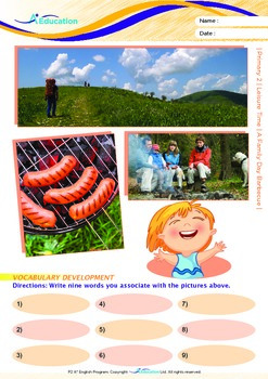 Leisure Time - A Family Day Barbecue - Grade 2