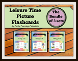 Leisure Time BUNDLE (set I, II, III) Picture Flashcards