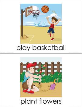 Leisure Time BUNDLE (set I, II, III) Picture Flashcards