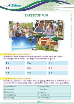 Leisure Time - Barbecue Fun - Grade 5