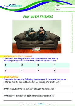 Leisure Time - Fun with Friends - Grade 5