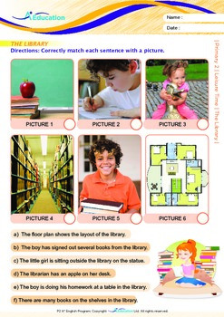 Leisure Time - The Library - Grade 2