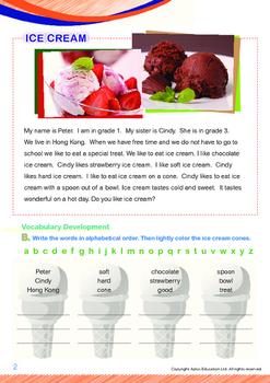 Leisure Time - Ice Cream - Grade 1