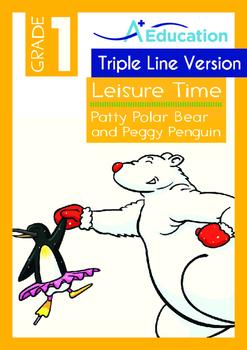 Leisure Time - Patty Polar Bear and Peggy Penguin - Grade