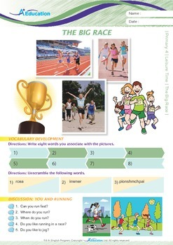 Leisure Time - The Big Race - Grade 4