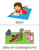 Leisure Time (set III) Picture Flashcards