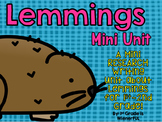Lemmings Research Writing Mini Unit for 1st-2nd grades